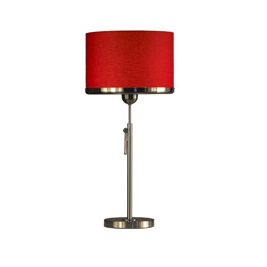 "Nova Brim 30"" H Table Lamp with Square Shade"