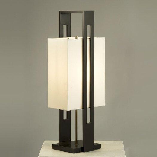 "Nova Tumi 30"" H Table Lamp with Rectangular Shade"