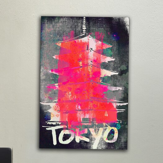 Jen Lee Art Tokyo Canvas Art