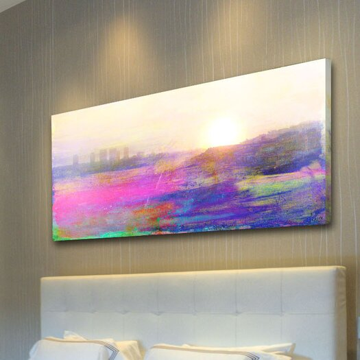 Jen Lee Art The View Canvas Art