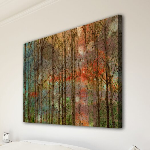 Jen Lee Art Through the Trees Canvas Art