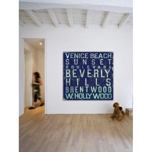 Jen Lee Art Beverly Hills Textual Art on Canvas