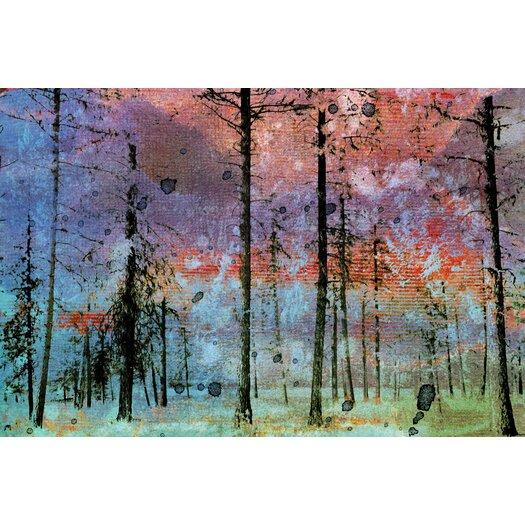 Lost in the Forest Graphic Art on Canvas