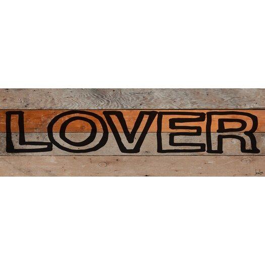 Lover Marker Reclaimed Wood - Douglas Fir Art