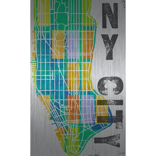 Jen Lee Art NY City Aluminum Art