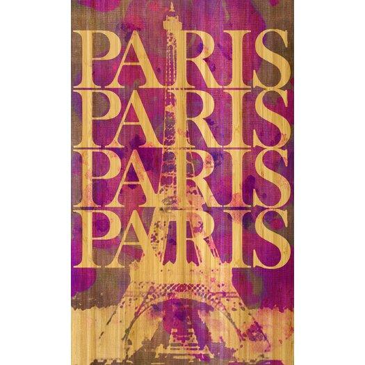 Paris Paris Bamboo Art