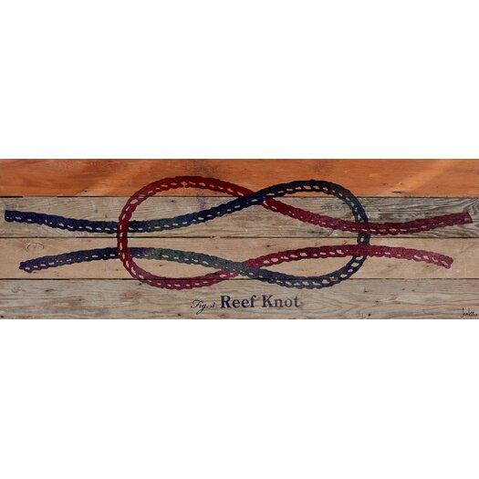 Reef Knot Reclaimed Wood - Douglas Fir Art