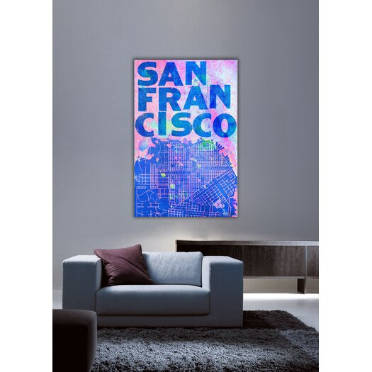 Jen Lee Art San Francisco Canvas Art