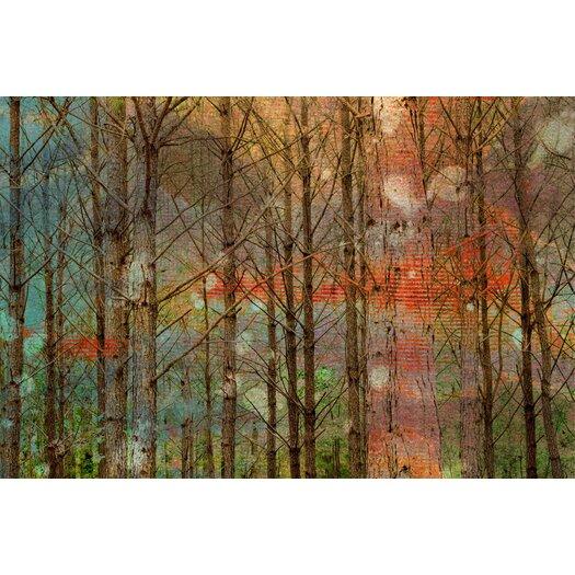 Jen Lee Art Through the Trees Canvas Art