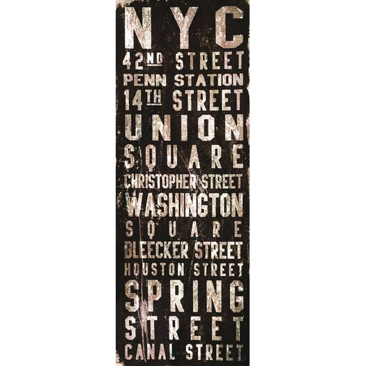 Union Square Canvas Art