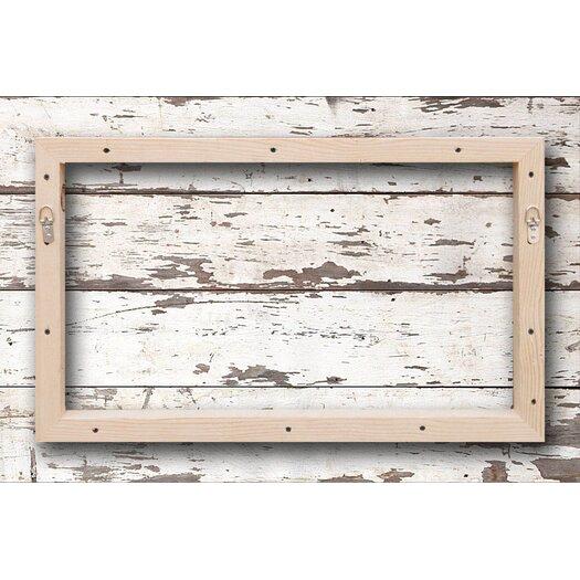 Jen Lee Art Regatta - Reclaimed Wood - White Barn Siding Art