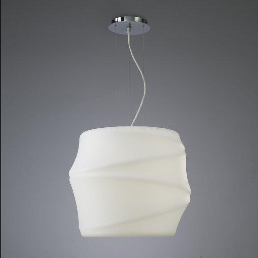 Contempo Lights Inc Lotus Drum Pendant
