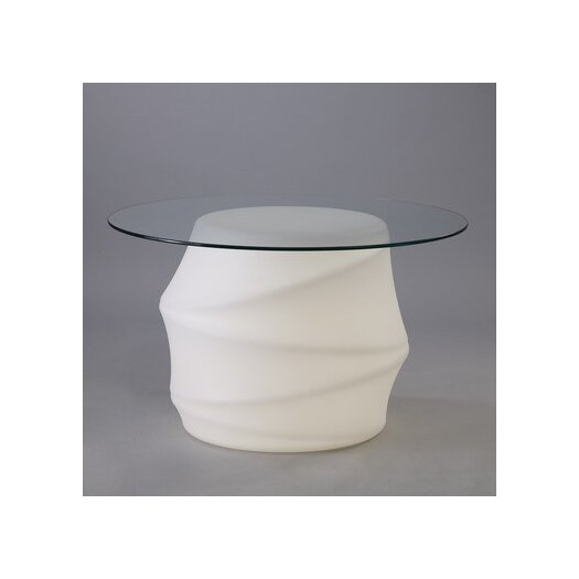 Contempo Lights Inc Lotus End Table