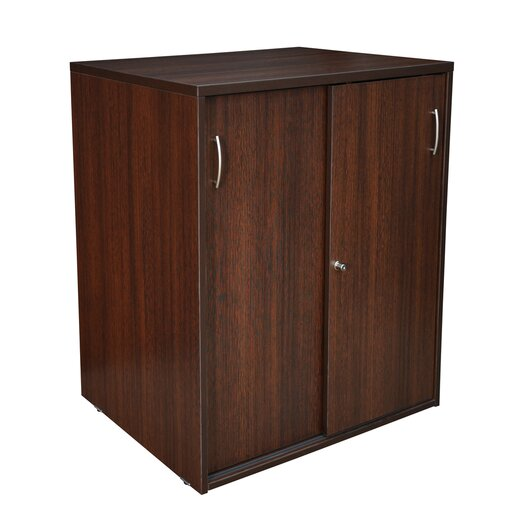 "Regency 30"" Storage Cabinet with Locking Sliding Doors"