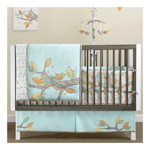 MiGi Little Tree 4 Piece Crib Bedding Set
