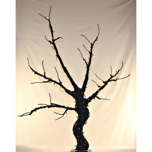 Queens of Christmas Tree Base Lit Halloween Decoration