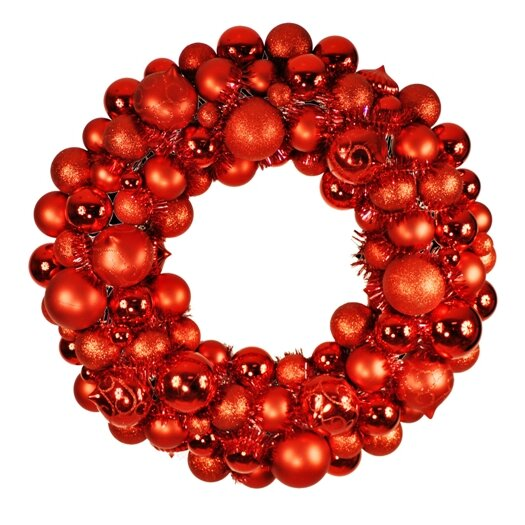 Queens of Christmas Ornament Wreath