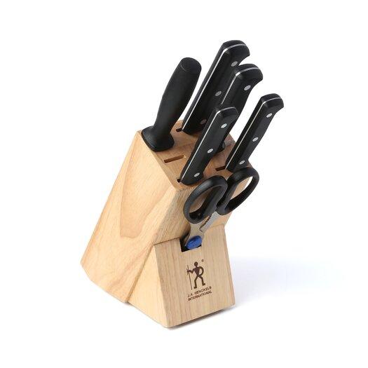 Zwilling JA Henckels International Fine Edge Pro 7 Piece Cutlery Block Set