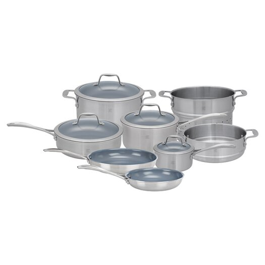 Zwilling JA Henckels Spirit 12-Piece Nonstick Cookware Set
