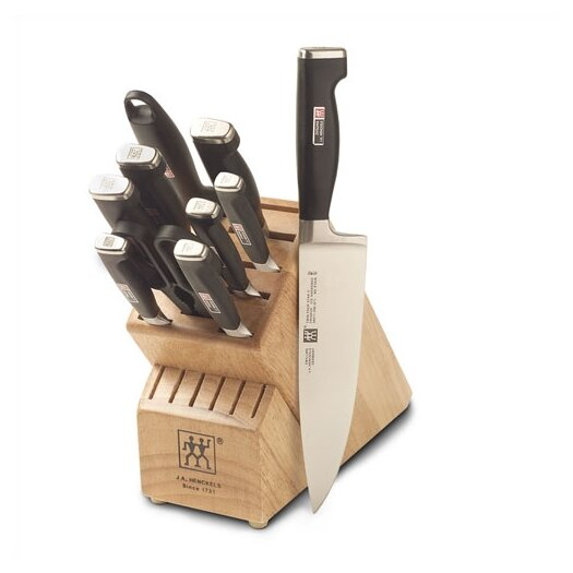 Zwilling JA Henckels Twin Four Star II Special Edition 11 Piece Cutlery Block Set