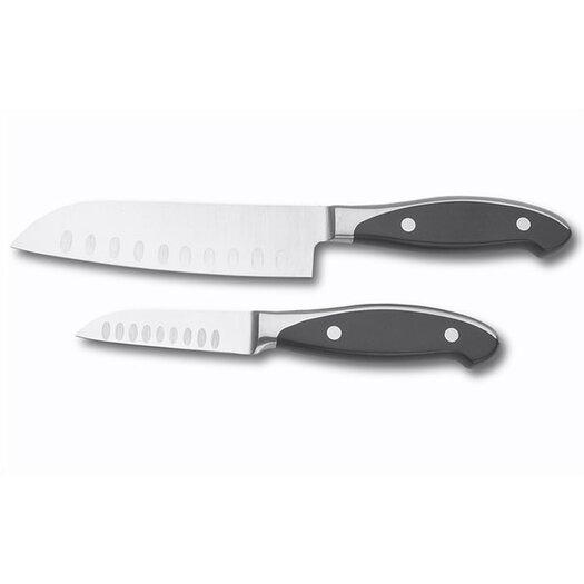 Zwilling JA Henckels International Forged Synergy 2 Piece Asian Knife Set