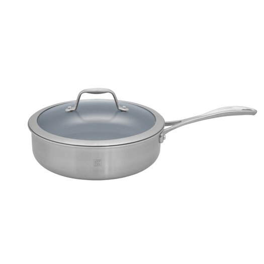 Zwilling JA Henckels Spirit Nonstick 3-qt. Saute Pan with Lid