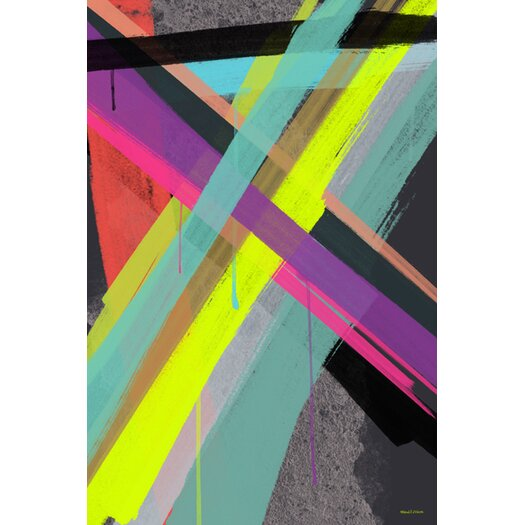 """Maxwell Dickson """"Other Spectrum"""" Graphic Art on Canvas"""
