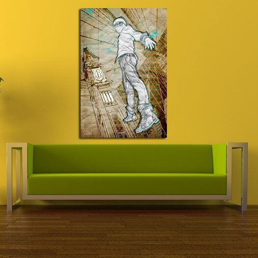 Maxwell Dickson Time Traveler Graphic Art on Canvas
