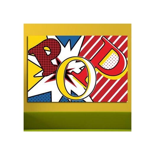 Maxwell Dickson Pop Graphic Art on Canvas