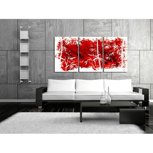 "Maxwell Dickson 3 Piece ""Coming Out"" Painting Prints on Canvas"