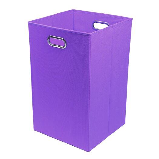 Modern Littles Color Pop Folding Laundry Basket