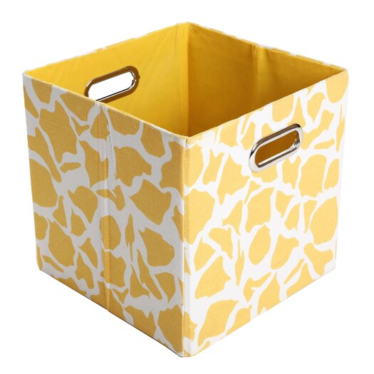 Modern Littles Rusty Giraffe Folding Storage Bin