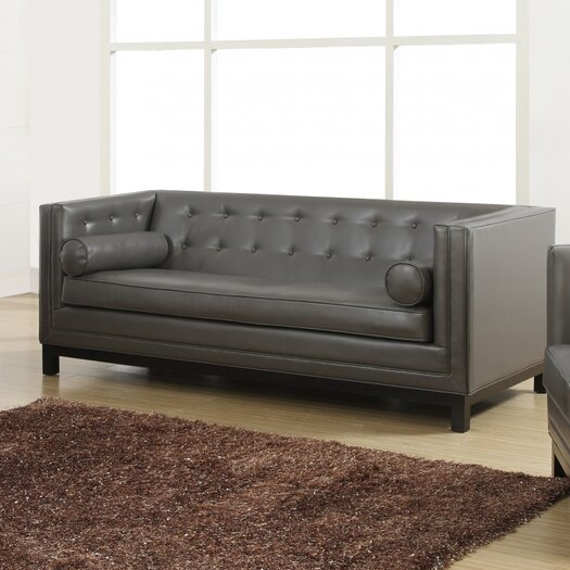 TOV Furniture Zoe Leather Sofa