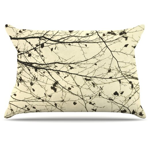 KESS InHouse Boughs Neutral Pillowcase