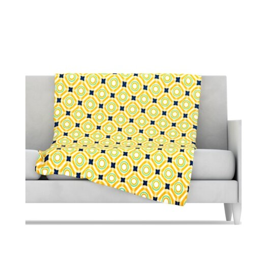 KESS InHouse Tossing Pennies II Microfiber Fleece Throw Blanket