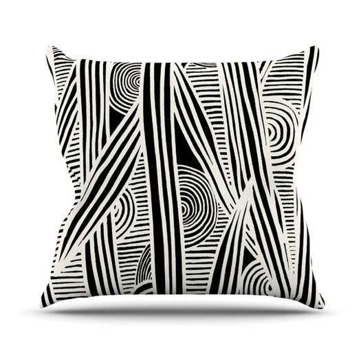 KESS InHouse Graphique Throw Pillow
