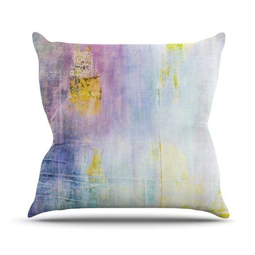 KESS InHouse Color Grunge Throw Pillow