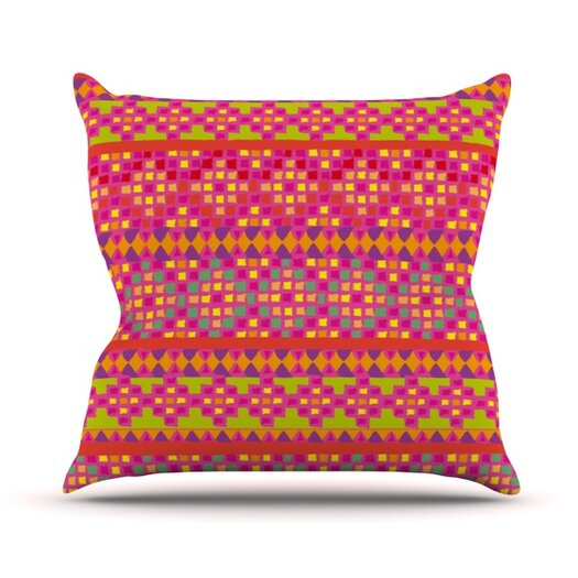 KESS InHouse Mexicalli Throw Pillow