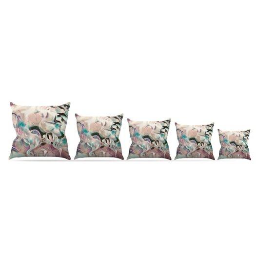KESS InHouse Fluidity Throw Pillow