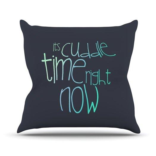 KESS InHouse Cuddle Time Throw Pillow