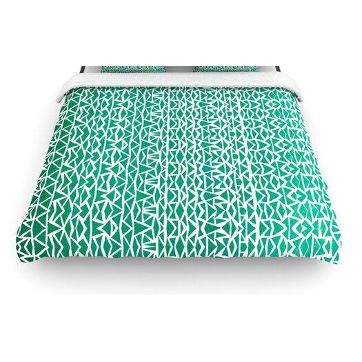 """KESS InHouse """"Tribal Forrest"""" Woven Comforter Duvet Cover"""