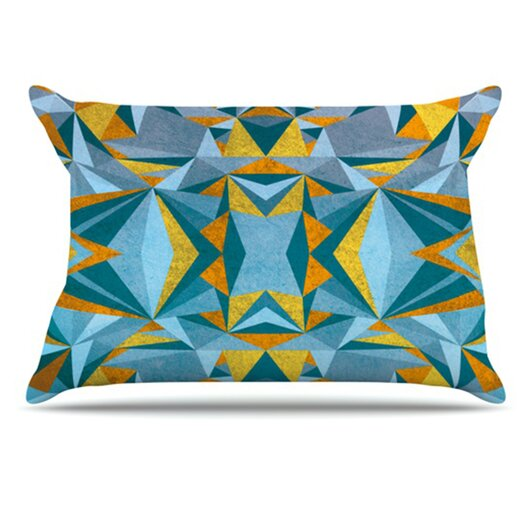KESS InHouse Abstraction Pillowcase