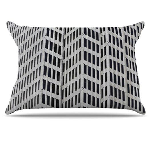 KESS InHouse The Grid Pillowcase
