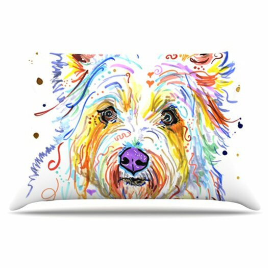 KESS InHouse Bella Pillowcase