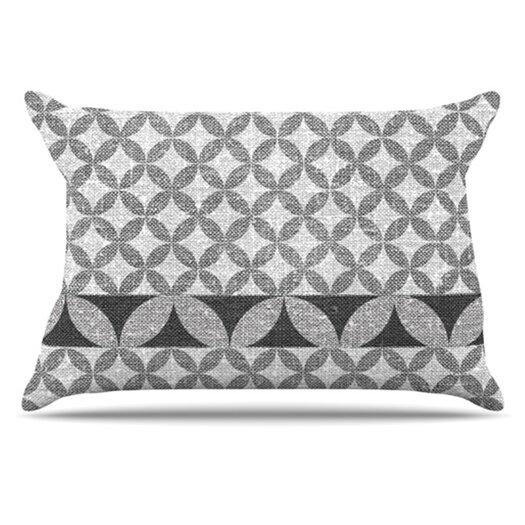 KESS InHouse Diamond Pillowcase