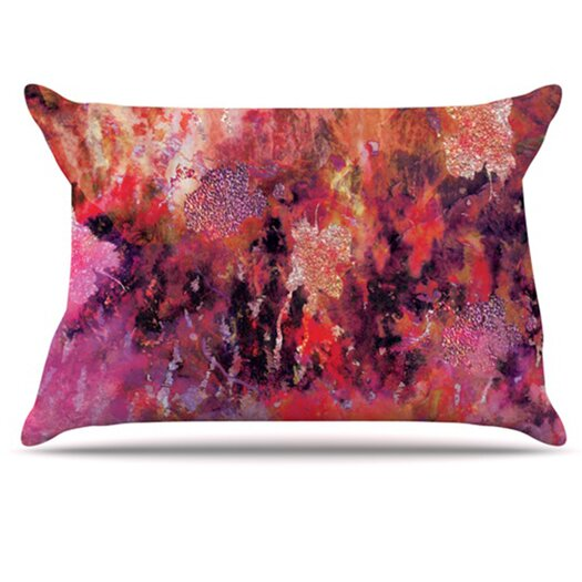 KESS InHouse Indian City Pillowcase