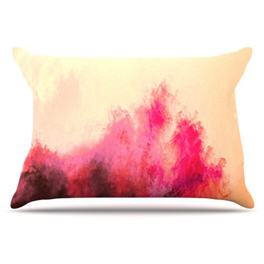 KESS InHouse Painted Clouds II Pillowcase