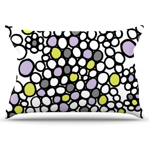 KESS InHouse Pebbles Pillowcase