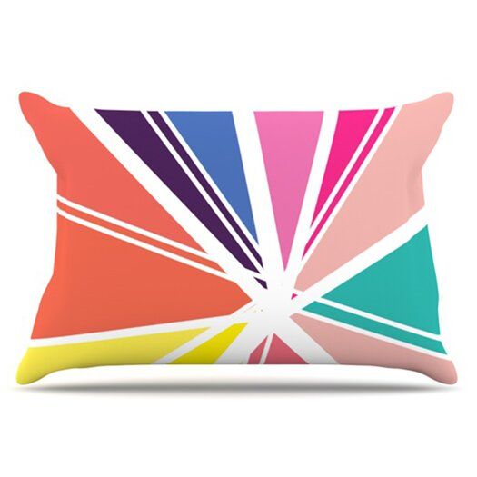 KESS InHouse Boldly Bright Pillowcase