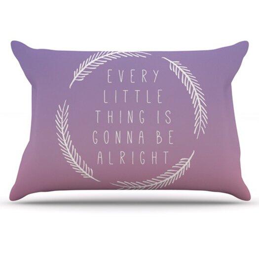 KESS InHouse Little Thing Pillowcase